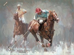 Reaching for the Ball by Mark Spain -  sized 32x24 inches. Available from Whitewall Galleries